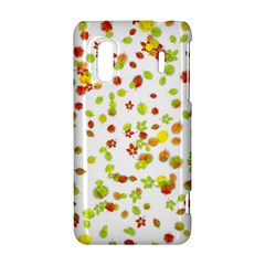 Colorful Fall Leaves Background HTC Evo Design 4G/ Hero S Hardshell Case