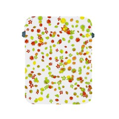 Colorful Fall Leaves Background Apple iPad 2/3/4 Protective Soft Cases