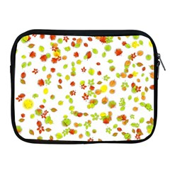 Colorful Fall Leaves Background Apple iPad 2/3/4 Zipper Cases