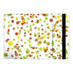 Colorful Fall Leaves Background Samsung Galaxy Tab Pro 10.1  Flip Case