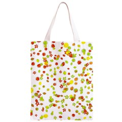 Colorful Fall Leaves Background Classic Light Tote Bag