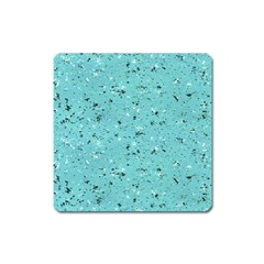 Abstract Cracked Texture Square Magnet