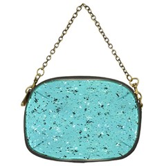 Abstract Cracked Texture Chain Purses (One Side)