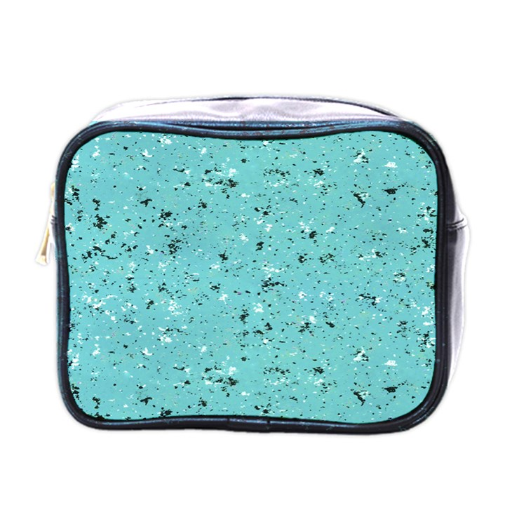Abstract Cracked Texture Mini Toiletries Bags