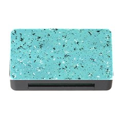Abstract Cracked Texture Memory Card Reader with CF