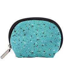 Abstract Cracked Texture Accessory Pouches (Small)