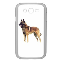 Malinois Full Samsung Galaxy Grand DUOS I9082 Case (White)
