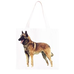 Malinois Full Grocery Light Tote Bag