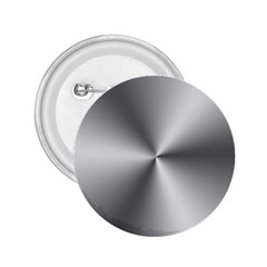 Shiny Metallic Silver 2.25  Buttons