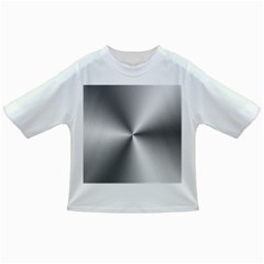 Shiny Metallic Silver Infant/Toddler T-Shirts