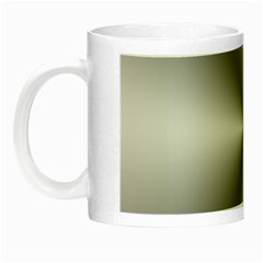 Shiny Metallic Silver Night Luminous Mugs