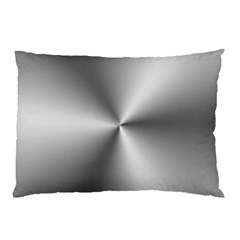 Shiny Metallic Silver Pillow Case