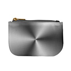 Shiny Metallic Silver Mini Coin Purses