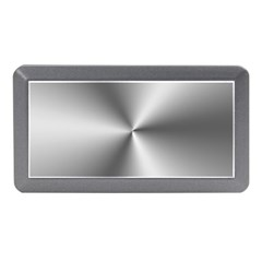 Shiny Metallic Silver Memory Card Reader (Mini)