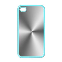 Shiny Metallic Silver Apple iPhone 4 Case (Color)