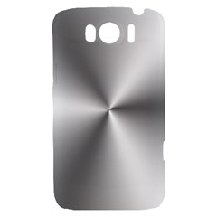 Shiny Metallic Silver HTC Sensation XL Hardshell Case