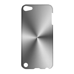 Shiny Metallic Silver Apple iPod Touch 5 Hardshell Case