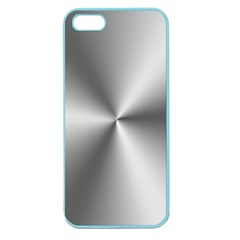 Shiny Metallic Silver Apple Seamless iPhone 5 Case (Color)
