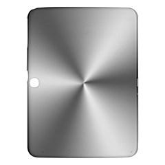 Shiny Metallic Silver Samsung Galaxy Tab 3 (10.1 ) P5200 Hardshell Case