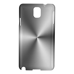 Shiny Metallic Silver Samsung Galaxy Note 3 N9005 Hardshell Case