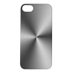 Shiny Metallic Silver Apple iPhone 5S/ SE Hardshell Case