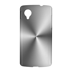 Shiny Metallic Silver LG Nexus 5