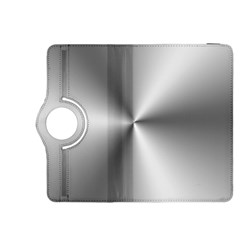 Shiny Metallic Silver Kindle Fire HDX 8.9  Flip 360 Case