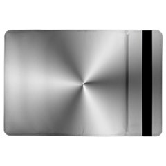Shiny Metallic Silver iPad Air 2 Flip