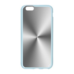Shiny Metallic Silver Apple Seamless iPhone 6/6S Case (Color)