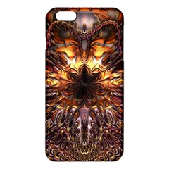 Golden Metallic Abstract Flower iPhone 6 Plus/6S Plus TPU Case