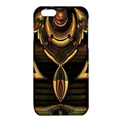 Golden Metallic Geometric Abstract Modern Art iPhone 6/6S TPU Case