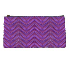 Grunge Chevron Style Pencil Cases