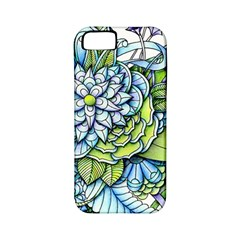 Peaceful Flower Garden 1 Apple iPhone 5 Classic Hardshell Case (PC+Silicone)