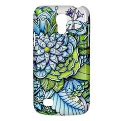 Peaceful Flower Garden 1 Samsung Galaxy S4 Mini (GT-I9190) Hardshell Case