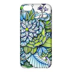 Peaceful Flower Garden 1 Apple iPhone 5C Hardshell Case