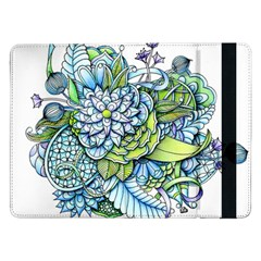 Peaceful Flower Garden 1 Samsung Galaxy Tab Pro 12.2  Flip Case