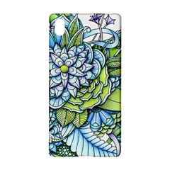 Peaceful Flower Garden 1 Sony Xperia Z3+ Hardshell Case