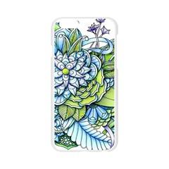 Peaceful Flower Garden 1 Apple Seamless iPhone 6/6S Case (Transparent)
