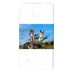 2 Australian Shepherds Galaxy Note 4 Back Case