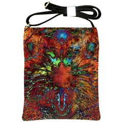 Boho Bohemian Hippie Floral Abstract Shoulder Sling Bags