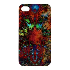 Boho Bohemian Hippie Floral Abstract Apple iPhone 4/4S Hardshell Case