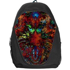 Boho Bohemian Hippie Floral Abstract Backpack Bag