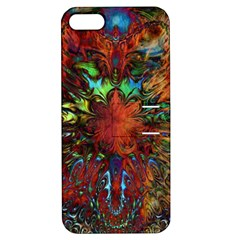 Boho Bohemian Hippie Floral Abstract Apple iPhone 5 Hardshell Case with Stand