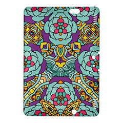 Mariager - Bold blue,purple and yellow flower design Kindle Fire HDX 8.9  Hardshell Case