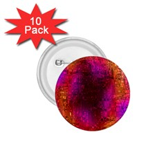 Purple Orange Pink Colorful 1.75  Buttons (10 pack)