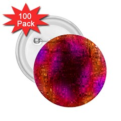 Purple Orange Pink Colorful 2.25  Buttons (100 pack)