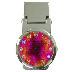 Purple Orange Pink Colorful Money Clip Watches