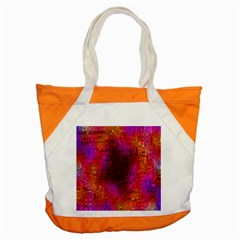 Purple Orange Pink Colorful Accent Tote Bag