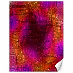 Purple Orange Pink Colorful Canvas 18  x 24