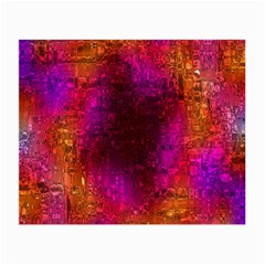 Purple Orange Pink Colorful Small Glasses Cloth (2-Side)